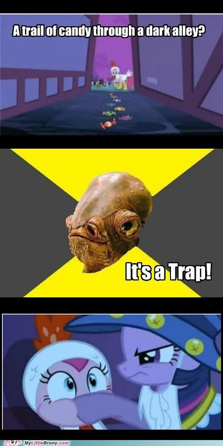 a trap admiral ackbar candy meme pinkie pie twilight sparkle - 5343125760