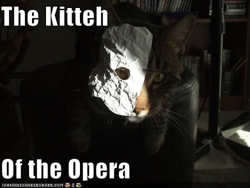 The Kitteh  Of the Opera