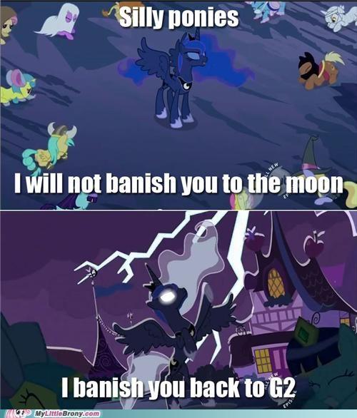 banishment best of week G2 meme moon nightmare moon silly ponies - 5343275776
