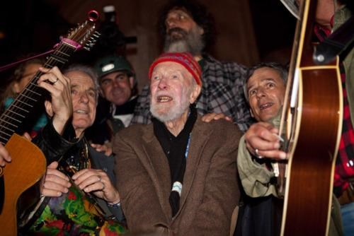 Arlo Guthrie,Occupy Together,Occupy Wall Street,Pete Seeger,The 99 Percent