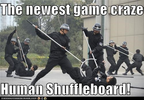 fun,game,games,human shuffleboard,Pundit Kitchen,shuffleboard,wtf