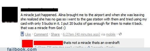 airport banking driving Featured Fail gas meme miracles money - 5345485568