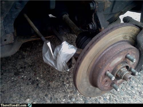 brakes,cars,duct tape,suspension