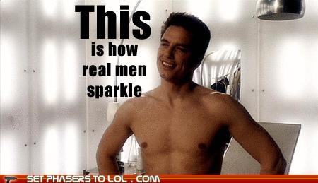 Captain Jack Harkness doctor who john barrowman real men Sparkle - 5345689344