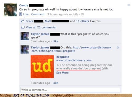 facebook pregnant pregnate urban dictionary - 5345836544