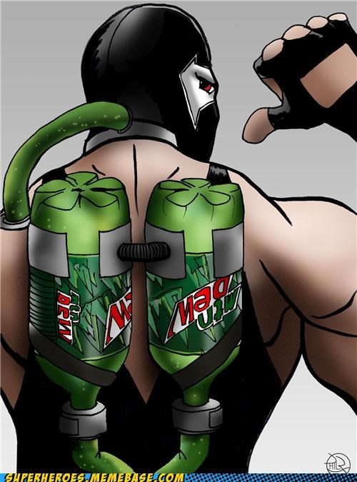 Awesome Art,bane,mountain dew,soda