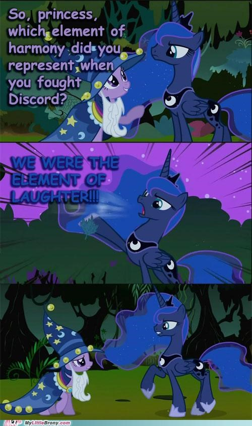discord,element of laughter,luna,lunar arbiter,nightmare night,that-cant-be-right