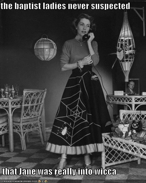baptist,baptist ladies,historic lols,i have a secret,skirt,spiderweb skirt,telephone,vintage,wicca,woman