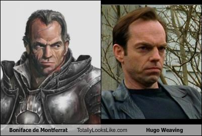 actor Boniface de Montferrat Hugo Weaving TLL
