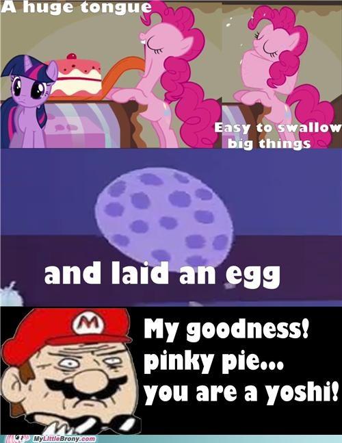 mario meme my goodness pinkie pie yoshi - 5349084416