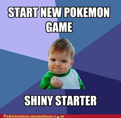 game meme Memes nature Pokémon shiny success kid - 5350215936