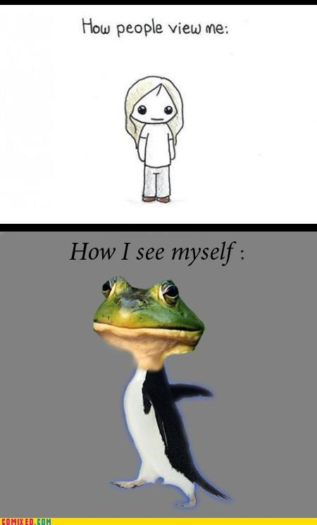 bachelor frog best of week fap frog How People View Me Memes socially awkward penguin the internets - 5350433536