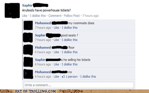 facebook lol nope selling tickets - 5350484992