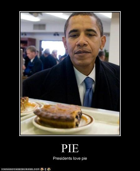 PIE Presidents love pie