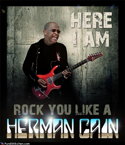 herman cain political pictures rock you like a hurricane - 5350955008