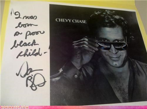 actor autograph celeb Chevy Chase dan aykroyd funny Hall of Fame Steve Martin - 5351305984