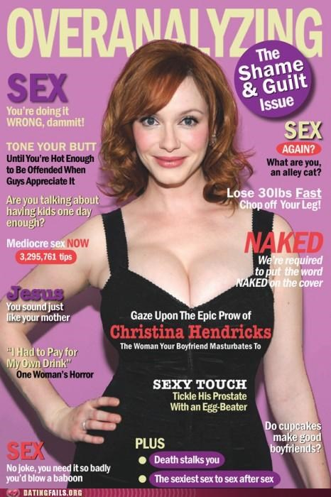 advice,Christina Hendricks,cosmopolitan,Hall of Fame,magazine,periodical,sex
