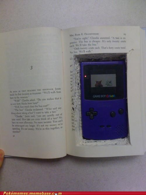 game boy hiding in class Pokémon rough times toys-games - 5351406080