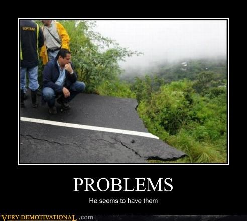 broken,cliff,hilarious,problems,road
