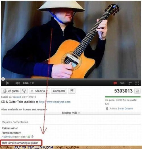 comment guitar lamp youtube - 5351464704