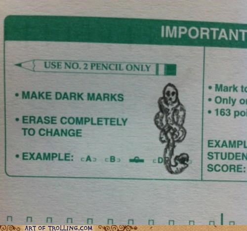 dark mark Harry Potter IRL test - 5351486464