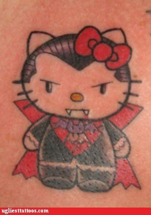 animals,cartoons,Cats,hello kitty,pop culture,vampires