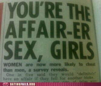 affair,cheating,headline,men and women,We Are Dating,women and men