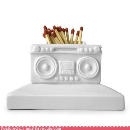 boombox container matchbox matches stand - 5351678976