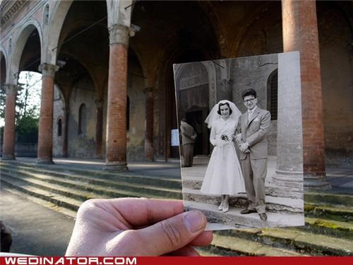 funny wedding photos Historical history Italy photograph retro wedding - 5351976960