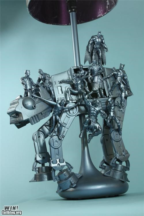 action figure custom DIY lamp nerdgsam sculpture toy - 5352141824