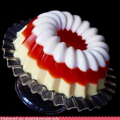 alcohol candy corn epicute halloween Jello layers mold ring - 5352146688