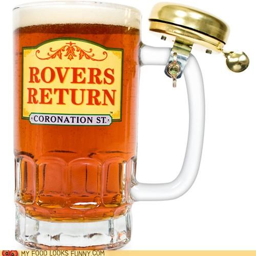 beer bell bike glass mug signal stein