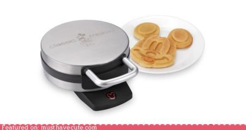 best of the week cooking disney face kitchen mickey mouse waffles - 5352198656