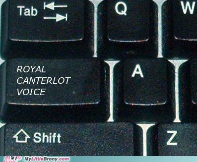 best of week capslock computer IRL keyboard luna royal canterlot voice - 5352220416