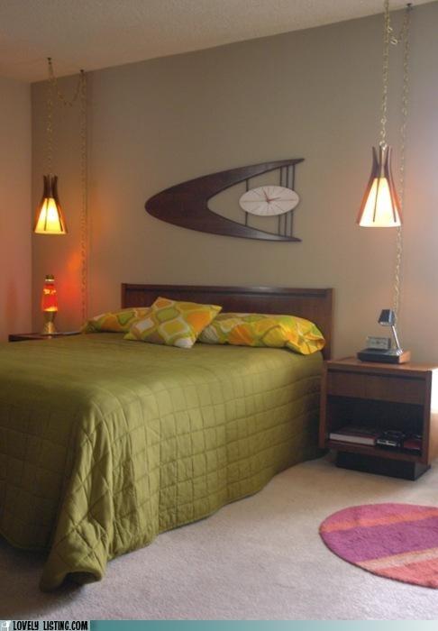 bed bedroom best of the week retro Star Trek vintage