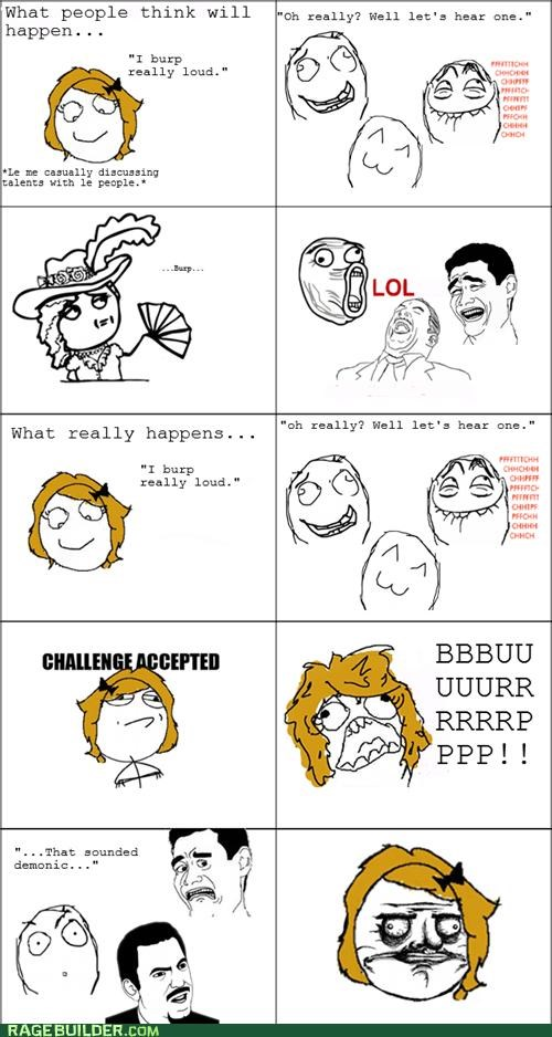 burp,girl,gross,Rage Comics