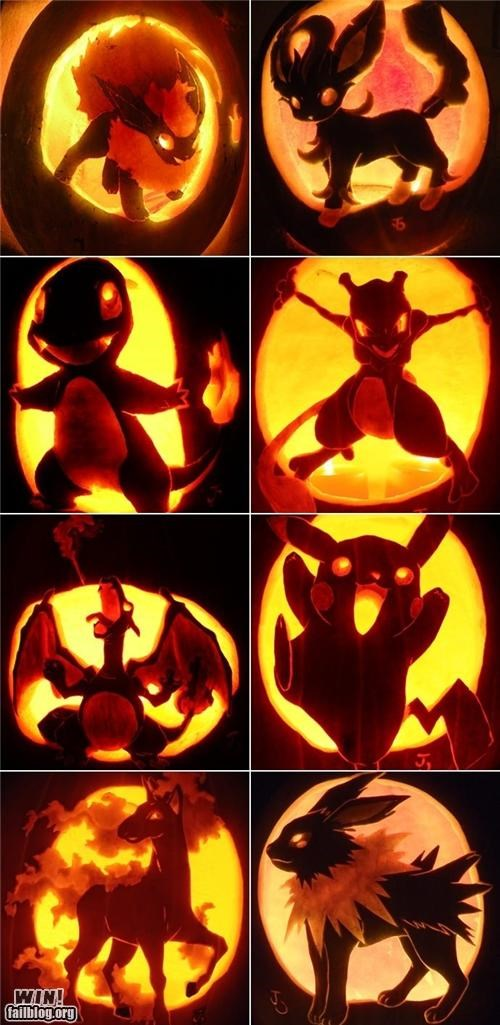 carving halloween nerdgasm pop culture pumpkins sculpture - 5352351488