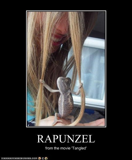 RAPUNZEL from the movie 'Tangled'