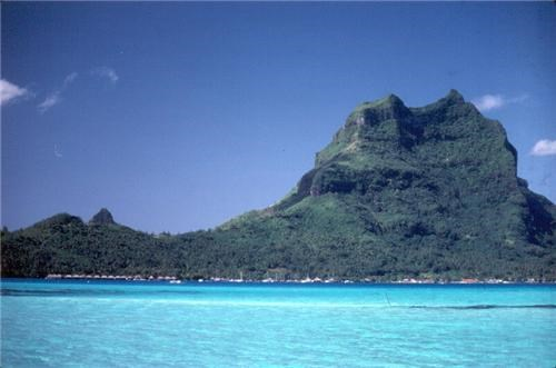 blue bora bora destination of the week first class ticket french polynesia ocean - 5352762880