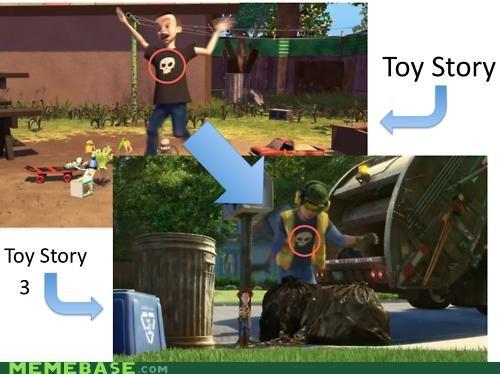 best of week Memes movies pixar sid toy story unsee - 5352959232