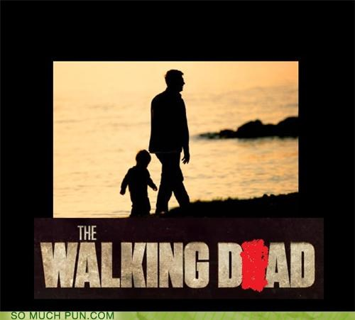dad deletion letter literalism show The Walking Dead