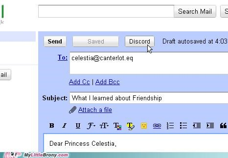 cannot unsee celestia discord gmail IRL twilights-letter unsee what i learned
