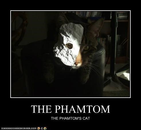 THE PHAMTOM THE PHAMTOM'S CAT