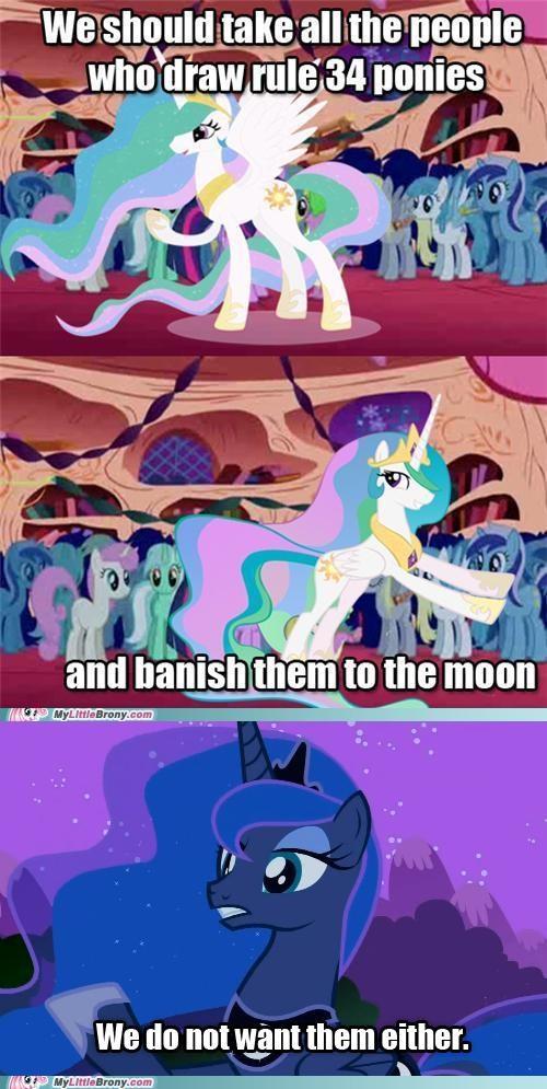 banish luna meme pushing celestia Rule 34 - 5353617408
