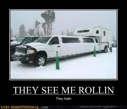 car hating hilarious limo rolling rv
