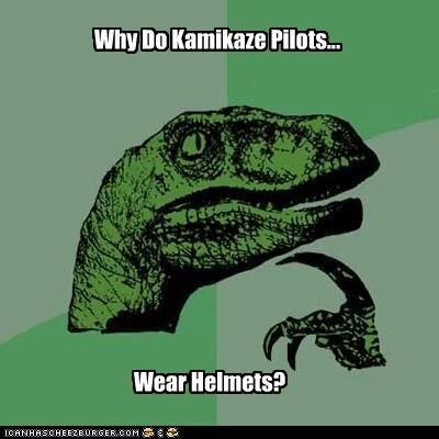 helmets,kamikaze,philosoraptor,pilots,style