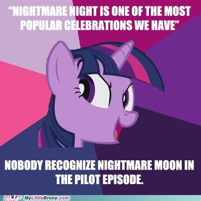 celebration,luna,meme,nightmare night,princess luna,the plot thickens,twilight sparkle
