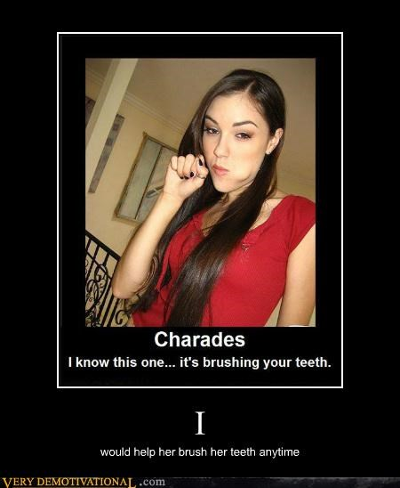 brush teeth charades hilarious Sasha Grey - 5354561536