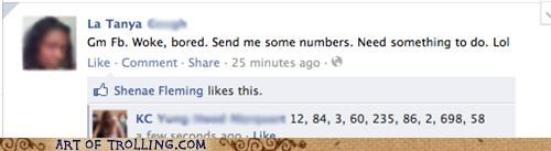 bored,facebook,numbers,phone numbers