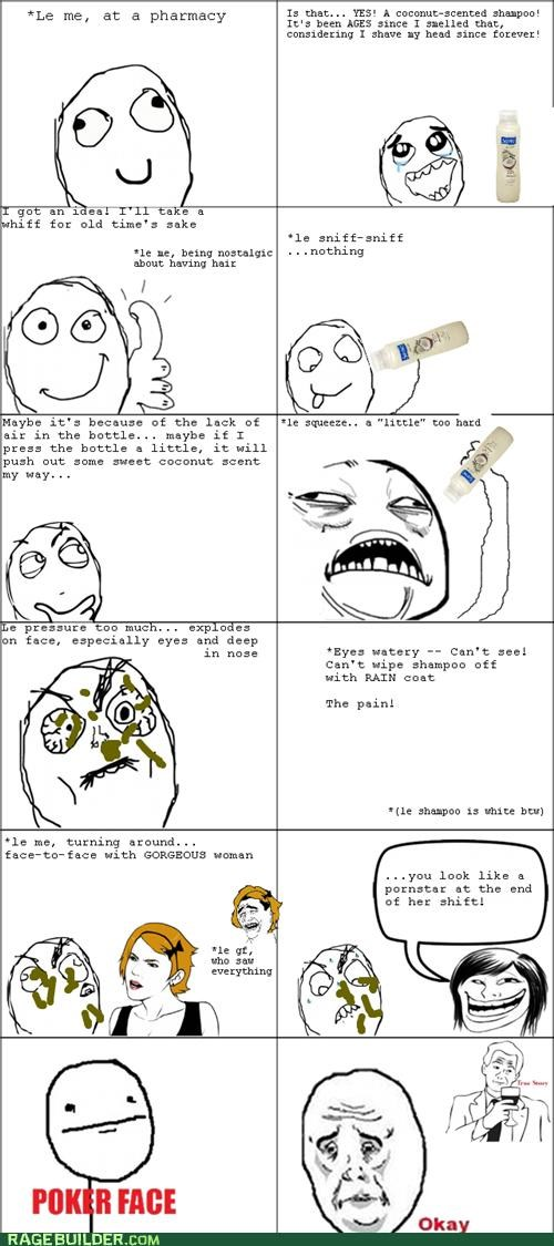Rage Comics,shampoo,that sounds naughty